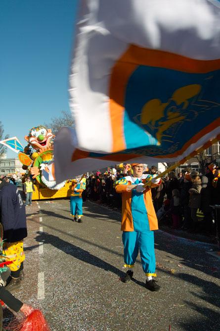 parade - vlagzwaaier