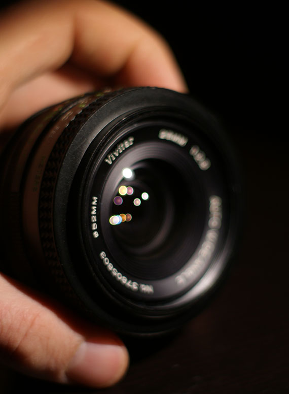Quick look at: Vivitar 28mm f2.8 M42 lens
