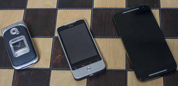 HTC Legend, Motorola Moto G