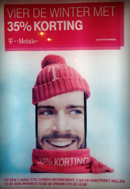 T-Mobile advertisement